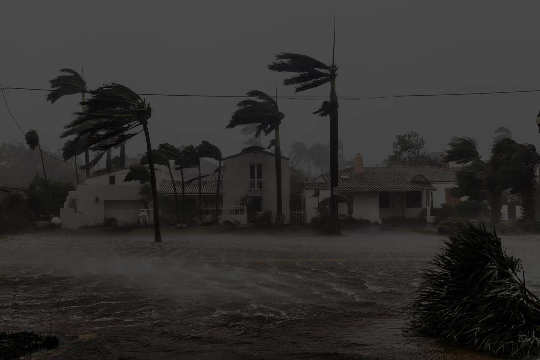 Photo of high winds and extreme rain in Puerto Rico during Hurricane Maria