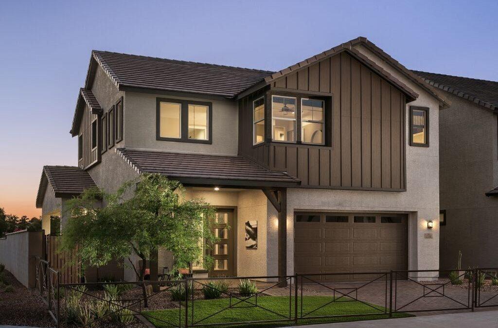 Photo of contemporary western Mattamy home development in Chandler, Arizona
